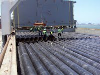 Bulk Shipments (coated pipes - mining in Botswana)